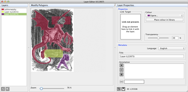 The Layer Editor Window